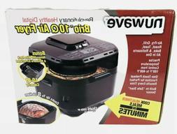 NuWave 37101 Brio 10-Qt. Digital Air Fryer - Black *New*