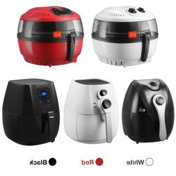 4.4 / 7.4QT Electric No Oil Air Fryer Calorie Reducer Temper