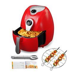 KUPPET 300300 Air Fryer, 2-Liter 1500W Electric Air Fryer W/