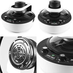 4.7 Qt. Black Electric Air Fryer/Multicooker