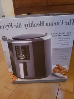 5.5 L Chef di cucina- Healthy Air Fryer, grill, and convecti