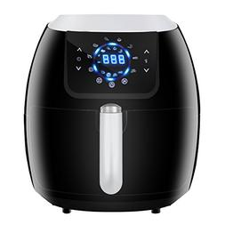 ZENY 5.8 Quarts 8-in-1 Electric Air Fryer Touch Screen Contr