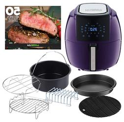 GoWISE USA 5.8-Quarts 8-in-1 Air Fryer XL with 6-PC Accessor