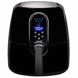 5.5 Qt Family Sized Power Air Fryer Elite 7- In -1 Electric