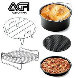 5 Sets of Air Fryer Accessories for Phillips Gowise And Cozy