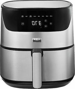 Bella Pro Series - 6.3-qt. Touchscreen Air Fryer - Stainless