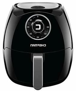 Chefman 6.8 Quart Air Fryer Oven with Space Saving Flat Bask