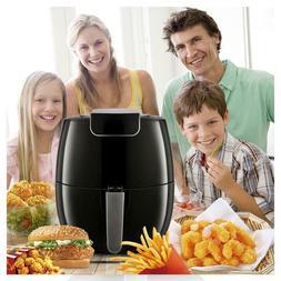 1800W 6.9qt Electric Digital Air Fryer Adjustable Temp Non-s