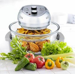 6 Colors!!!Big Boss Air Fryer Healthy 1300W XL 16-Quart