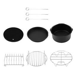 6 in 1 Multifunctional Air Fryer Accessories Set Kit Parts M