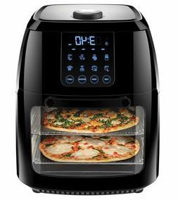 Chefman 6 Liter Digital Air Fryer Rotisserie Dehydration Ove