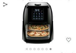 Chefman 6 Liter Digital Air Fryer+ Rotisserie, Dehydrator, C