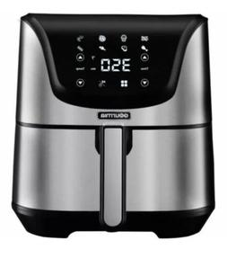 Gourmia 6 Qt Digital Air Fryer 8 One-Touch Stainless Steel