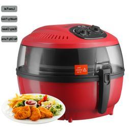 6QT Electric Digital Air Fryer Oil-Less Roaster Calorie Redu