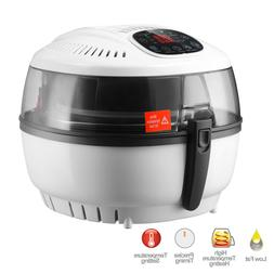 7.4QT White Electric Digital Air Fryer Oil-Less Griller Roas