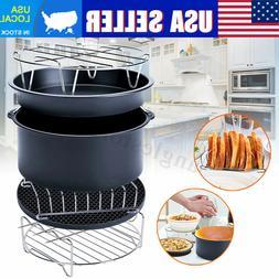 7 6 pcs air fryer accessories healthy