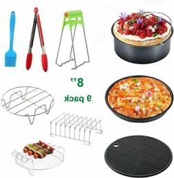 """7"""" / 8"""" Big Air Fryer Accessories set for Gowise Phillips Co"""