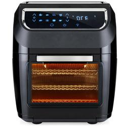 8-in-1 Electric XL Air Fryer Oven, Rotisserie, Dehydrator Ki