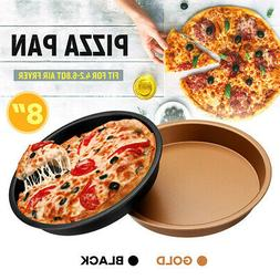 """8"""" Pizza Pan For Air Fryer Accessories Healthy Airfryer Baki"""