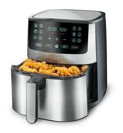 8-Quart Gourmia Multifunction Stainless Steel Air Fryer *NEW