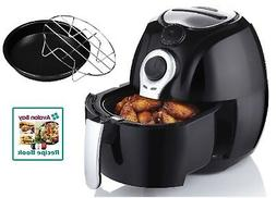 Avalon Bay AB-Airfryer100B 3.7QT Airfryer in Black