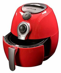 Avalon Bay AB-Airfryer100R Air Fryer 3.7 Quarts Red