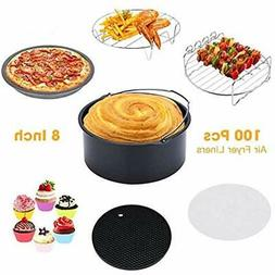 Air Deep Fryer Parts & Accessories 8&quot XL For Gowise Phil