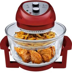 Big Boss Air Fryer 1300-Watt, 16-Quart, Red - As Seen on TV,