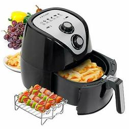 Secura Air Fryer 1500W Electric Hot Air Fryers Large 3.4Qt