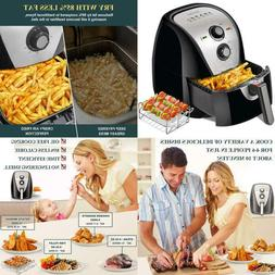 Secura Air Fryer 1700W Electric Hot Air Fryers Large 5.3Qt /