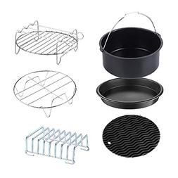 Air Fryer Accessories, 7 inch Deep Fryer Accessories Kit for