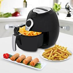 ZENY 1500W Air Fryer 3.7 Quart Large Capacity For Healthy Oi