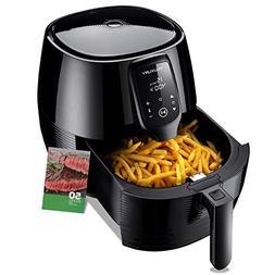 Air Fryer XL, 5.8QT Electric Large Deep Fryer Oil-free Touch