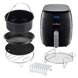 GoWISE USA Air Fryer with 6-Piece Accessory Set + 50 Recipes