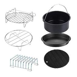 Ginvy Air Fryer Accessories Set of 5, Fit all 7QT Air Fryer
