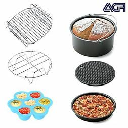 Air Fryer Accessories 6pcs for Gowise Phillips and Cozyna or