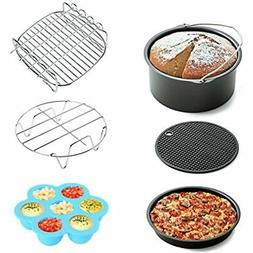 Air Fryer Accessories 6pcs Gowise Phillips And Cozyna, Fit A