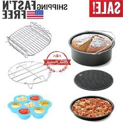 air fryer accessories 7 inch 6 pieces