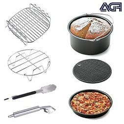 Air Fryer Accessories 7pcs for Gowise Phillips and Cozyna or