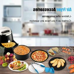 Air Fryer Accessories 8 Inch 10 PCS Fit all Standard Air Fry