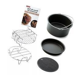 Hiware Air Fryer Accessories Fits All 3.2QT - 5.3QT - 5.8QT