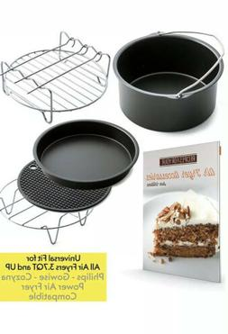 Air Fryer Accessories For Gowise Phillips And Cozyna, Set Of