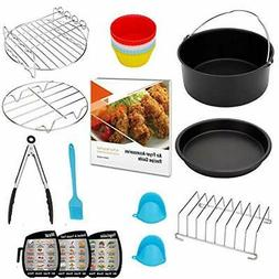 Air Fryer Accessories XL 8 inch Compatible with Power Philli