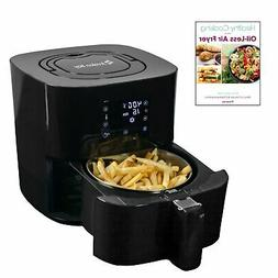 Avalon Bay Air Fryer Digital 2.65 Qt w/ Stainless Steel Bask