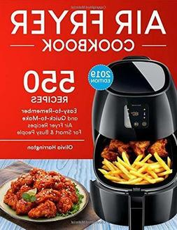 Air Fryer Cookbook For Smart and Busy People by Olivia Harri