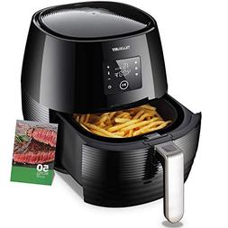 Air Fryer 3.7QT 1400W Electric  Large Deep Fryer Oil-free To