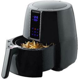 Air fryer frie oil-free potatoes chicken capacity 3.2 qt oil