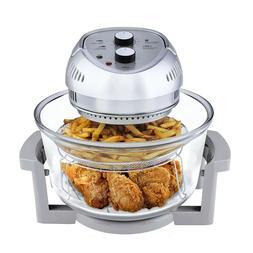 Big Boss Air Fryer Healthy 1300-Watt XL 16-Quart + 50 Recipe
