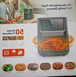 air fryer large 6 quart 1750w oven