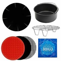Air Fryer Round XL Baking Accessories Compatible with Farber